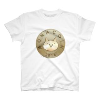 仮想通貨 MONA モナコイン T-shirts