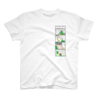 おいでよ長野 上京4コマ T-shirts