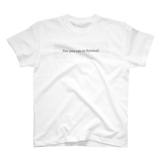 仮想通貨 Byteball バイトボール T-shirts