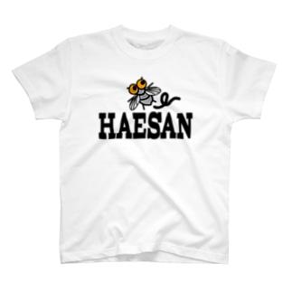 ハエサン 2010 こんなの着たら「臭っ!」と、いじめられる。 T-shirts