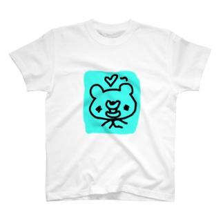たらこくちびるのくまさんおねだりする T-shirts