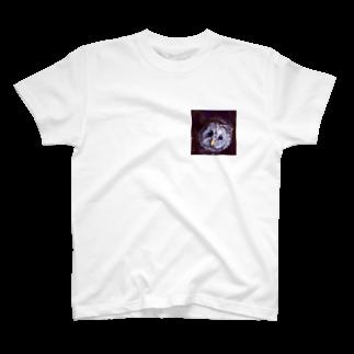 工房もりふくろうのフクロウ T-shirts