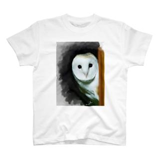 メンフクロウは見た T-shirts
