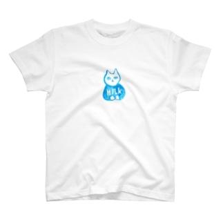 真白さん「MILK」 T-shirts