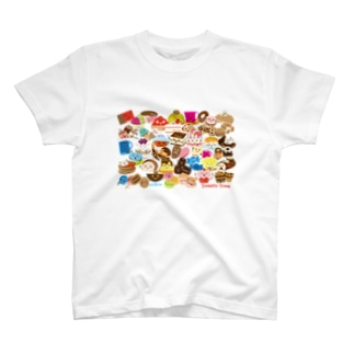 スイーツタイム-ALL-sweets time-スイーツタイム- T-shirts