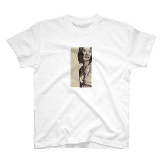 ボールペン画 T-shirts