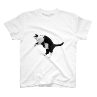 どでーっとしたねこ T-shirts