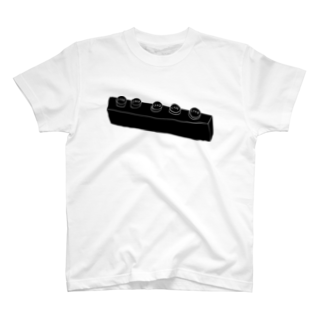 明季 aki_ishibashiの謎のレロブロック T-shirts