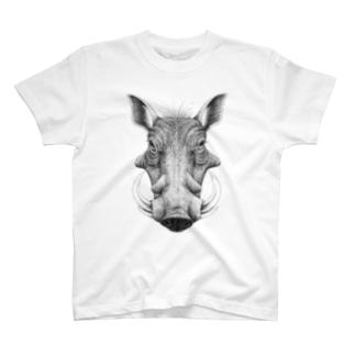 イボイノシシ T-shirts