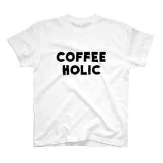 COFFEE HOLIC T-shirts