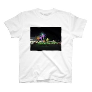植物電飾 T-shirts