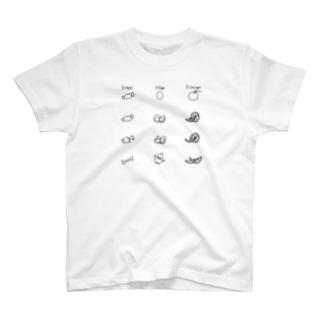にくたまごおれんじ T-shirts