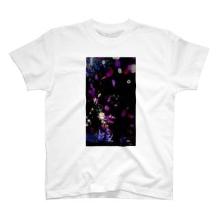 花マッピング T-shirts