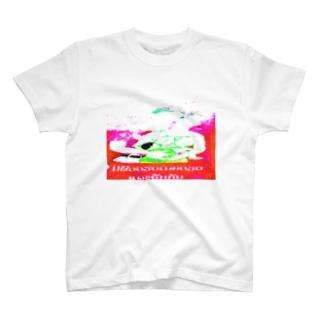 顔面goldのラオスの微笑ましい一家 T-shirts