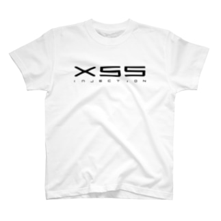 XSS injection(白) T-shirts