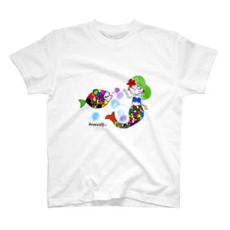 カラフルマーメイド T-shirts