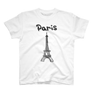 エッフェル塔 T-Shirt