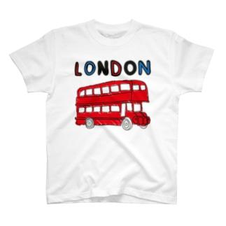 ロンドンバス T-shirts