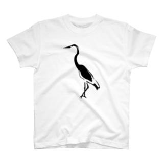 モルディブ bird T-shirts