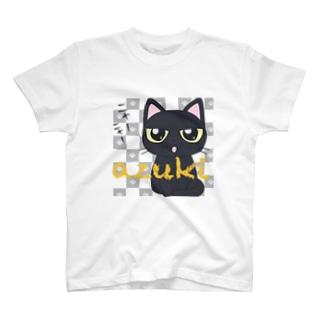 黒猫あずきたん T-shirts