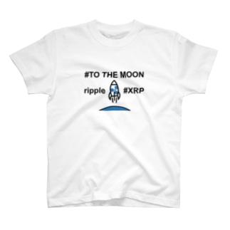 リップル moon2 T-shirts