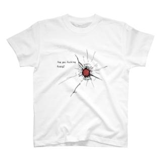 銃痕 T-shirts