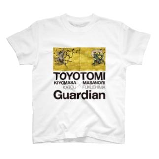 豊臣の風神・雷神 加藤清正と福島正則 T-shirts