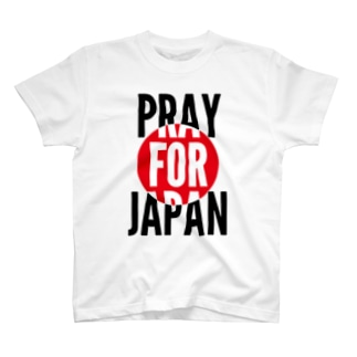 PRAY FOR JAPAN T-shirts