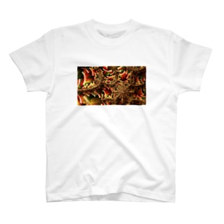 Autumn eye T-shirts