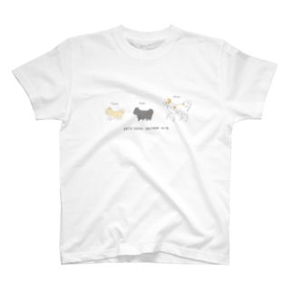 ARTS SEED OKITAMA 2019のASO2018×菊地純 ポチのツナマヨサンド T-shirts
