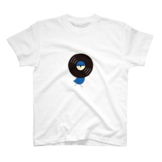 レコードリ月夜 -Right Walk T-shirts