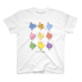 ひよこちゃんたち T-shirts