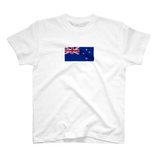 ニュージーランド 国旗 T-shirts