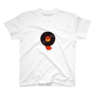 レコードリお日様 -Left Walk T-shirts