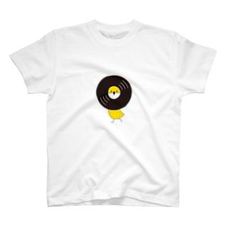 レコードリ秋の滝 -Left Walk T-shirts