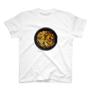 秋の炊き込みご飯 T-shirts