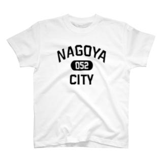 ナゴヤシティ 名古屋052 ロゴ T-shirts