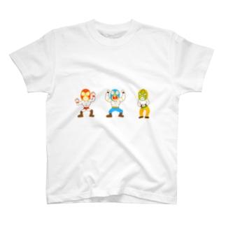 マスクマンズ T-shirts
