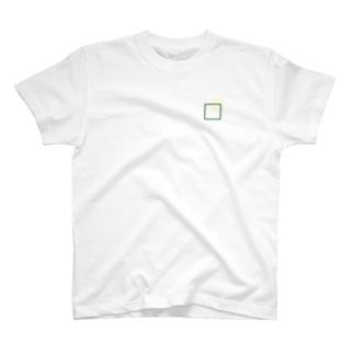 シンプルに四角でデザッちゃったよ! T-Shirt