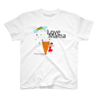 ソフトクリームmama T-shirts