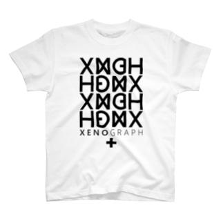 XENOGRAPH ver.01 / white T-shirts