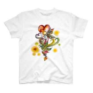 ハートフル T-shirts