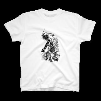 Jackpool の祈る女神兵器 T-shirts