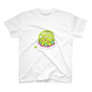 まっちゃケーキ T-shirts
