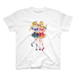 フローラルアンジュ T-shirts