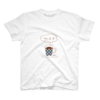 チェックマグ T-shirts