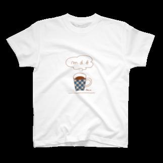 マーケットデザインワーク ビイトのチェックマグ T-shirts