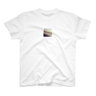 夕陽と海 T-shirts