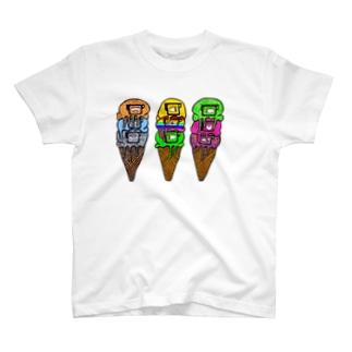 Eyes cream Flavors No.1 T-shirts