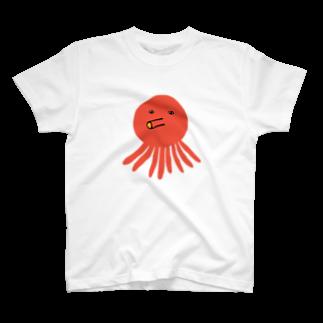 ajitukeのたこさん T-shirts